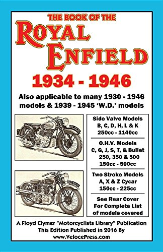 BOOK OF THE ROYAL ENFIELD 1934-1946