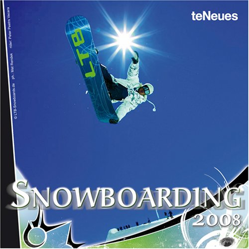 Snowboarding 2008 Calendar by Te Neues Pub Group