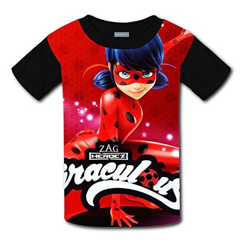 Miraculous Girls Ladybug T-Shirt