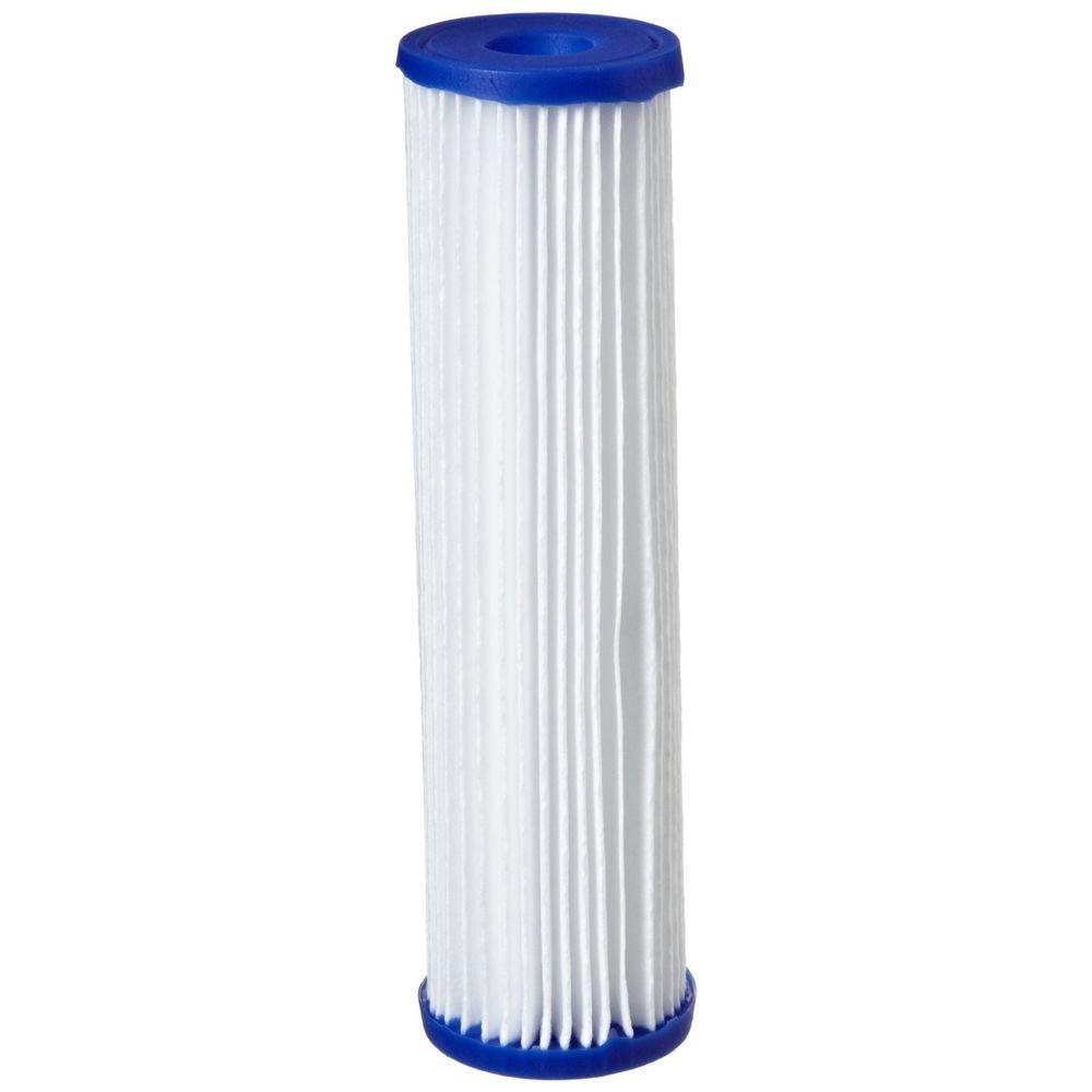4 Pack- Polyester Pleated Sediment Water Filter 4.5'' x 20''   10 micron   SPF-45-2010