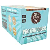 Buff Bake - Protein Cookie - Chocolate Chip Peanut Butter - Non GMO - Pack of 12
