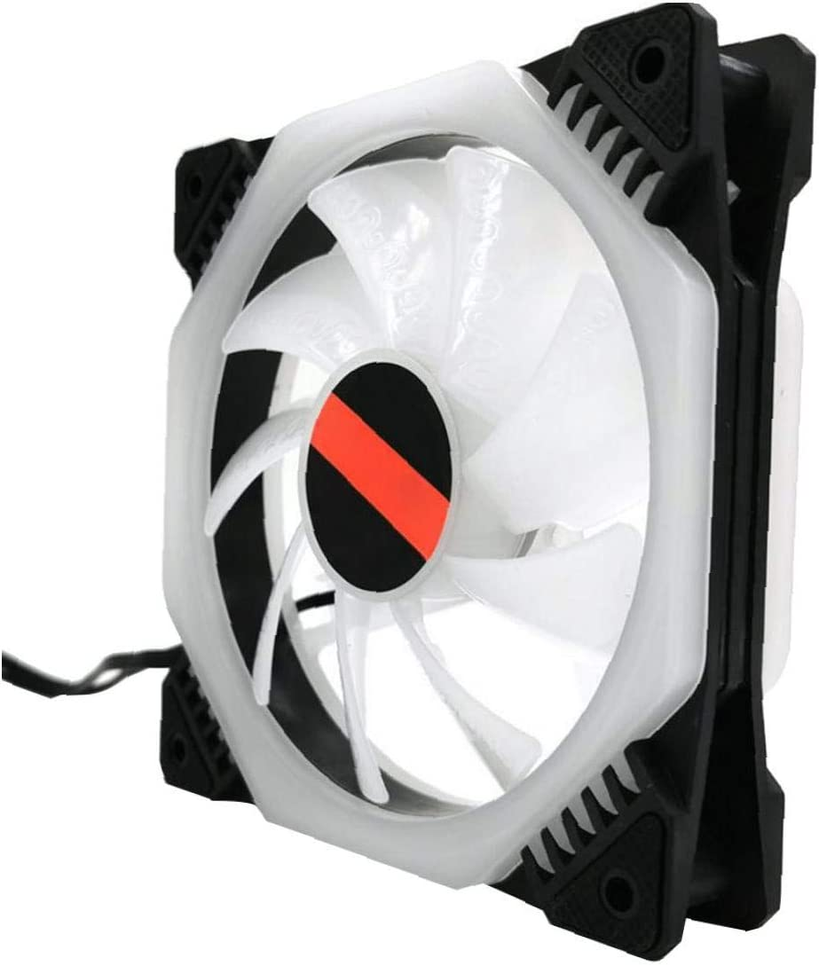 Rrunzfon Caso De La Serie RGB Fan Kit Inalámbrico RGB Led ...