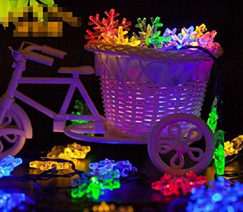 20 Colour Change Solar Party Lights - 2