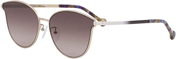 Carolina Herrera Gafas de Sol Mujer SHE104590A39 (Diametro 59 mm), Lila, Violeta, 59 Unisex-Adult: Amazon.es: Ropa y accesorios