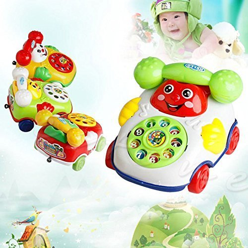[2016 Baby Toys Music Cartoon Phone Educational Developmental Kids Toy Gift KY] (Child Star Wars Costume Australia)