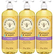 Burt's Bees Baby Shampoo & Wash, Calming, 21 Ounces (Pack of 3)