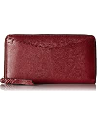 Caroline Rfid Zip Around Wallet Cabernet Wallet