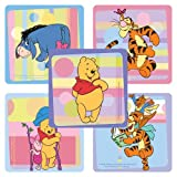 Disney Playtime Winnie the Pooh Stickers - Party Favors - 100 Per Pack