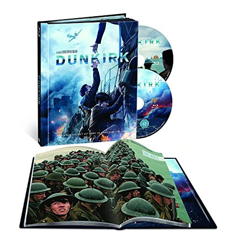 Dunkirk Blu Ray  Digibook   Filmbook With 64 Page Book  Region Free Italian Uk Import  Limited Edition Exclusive