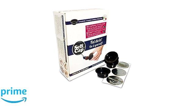 Kit Lavazza modo mio selfcap Barista compuesto de 50 Cápsulas y 250 gr. Café Molido Gran Cru: Amazon.es: Hogar