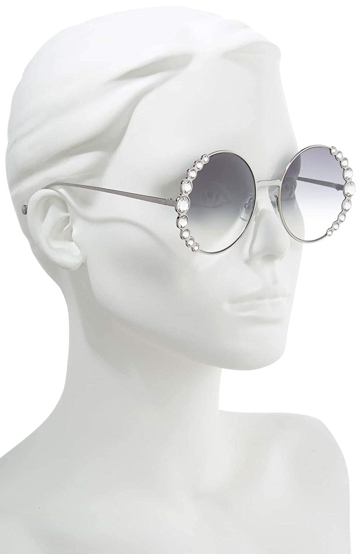 0c9ea44709 Amazon.com  Fendi RIBBONS   CRYSTALS FF 0324 S RUTHENIUM GREY SHADED  58 20 135 women Sunglasses  Clothing