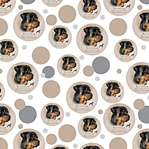 GRAPHICS & MORE Rottweiler Rottie Dog Breed Premium Gift Wrap Wrapping Paper Roll 7