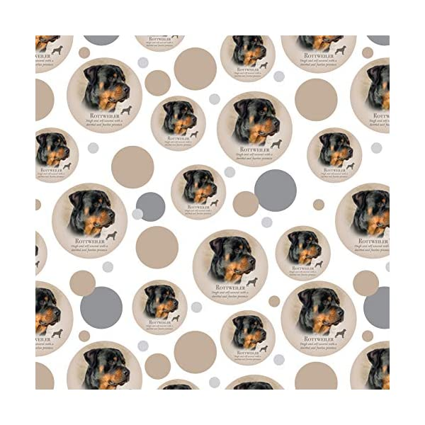 GRAPHICS & MORE Rottweiler Rottie Dog Breed Premium Gift Wrap Wrapping Paper Roll 1