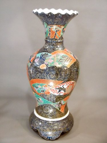有田焼伊万里焼|陶器沈香壺陶器花瓶|贈答品|ギフト|贈り物|記念品|花鳥絵藤井錦彩 B00H9YNRU0