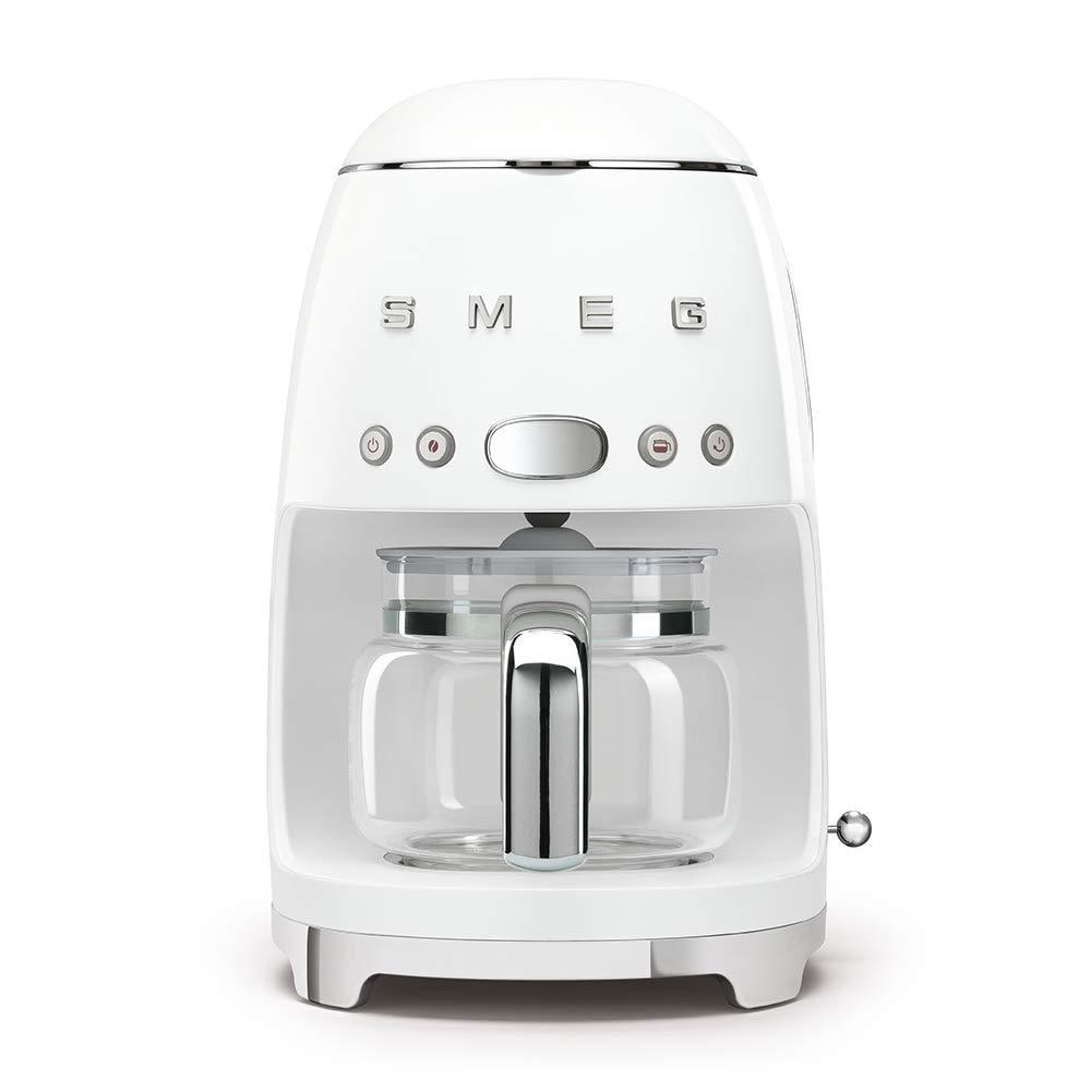 Smeg DCF01WHEU - Cafetera (Independiente, Máquina espresso, 1,4 L, 1050 W, Blanco): Amazon.es: Hogar