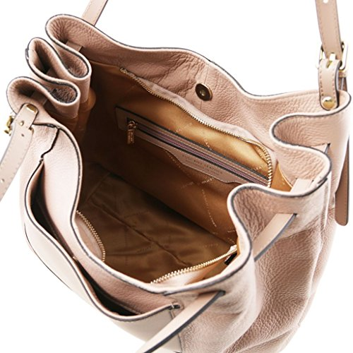 Tuscany Leather Cinzia Borsa shopping in pelle morbida Borse donna a tracolla Nude