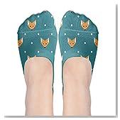 Strict Fox Dot Group Women No-Show Casual Liner Socks Low Cut Ankle Socks Boat Socks