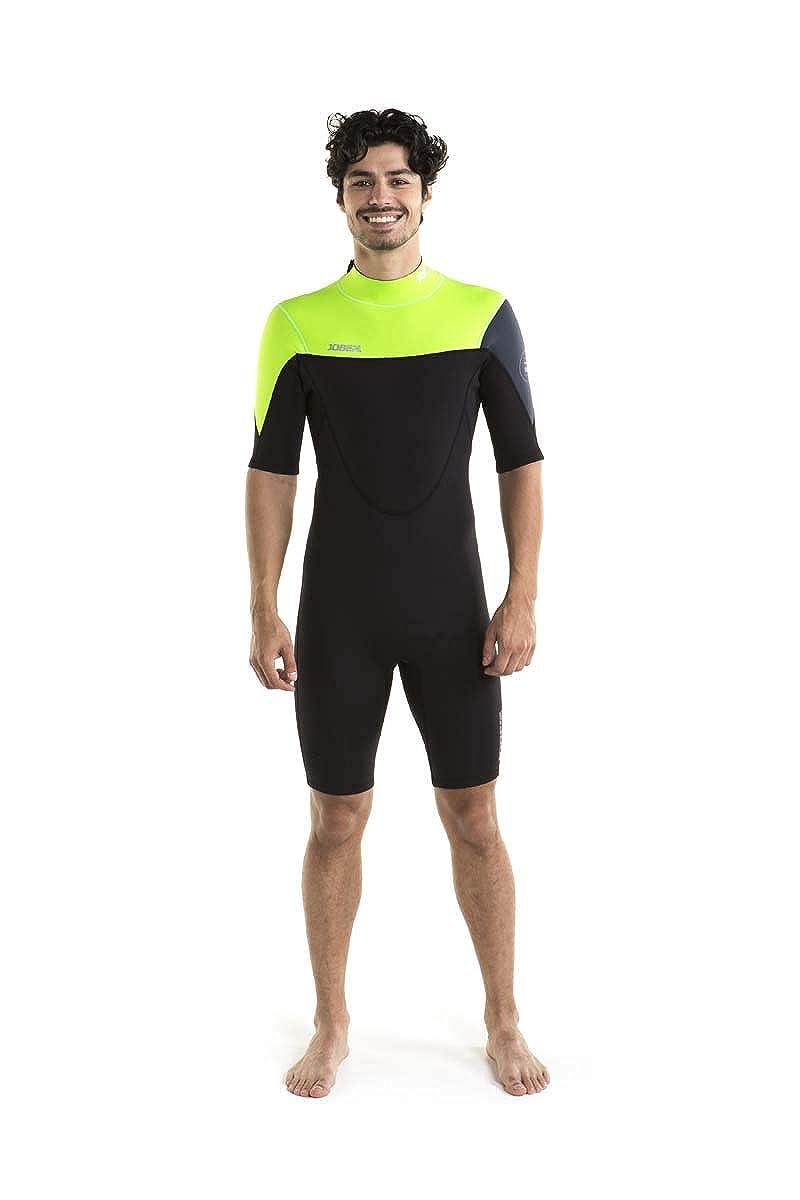 Lime green L Jobe Men's Perth Shorty 3 2mm Wetsuit, Men