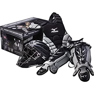 Mizuno Youth Samurai Box Set (Black/Grey)