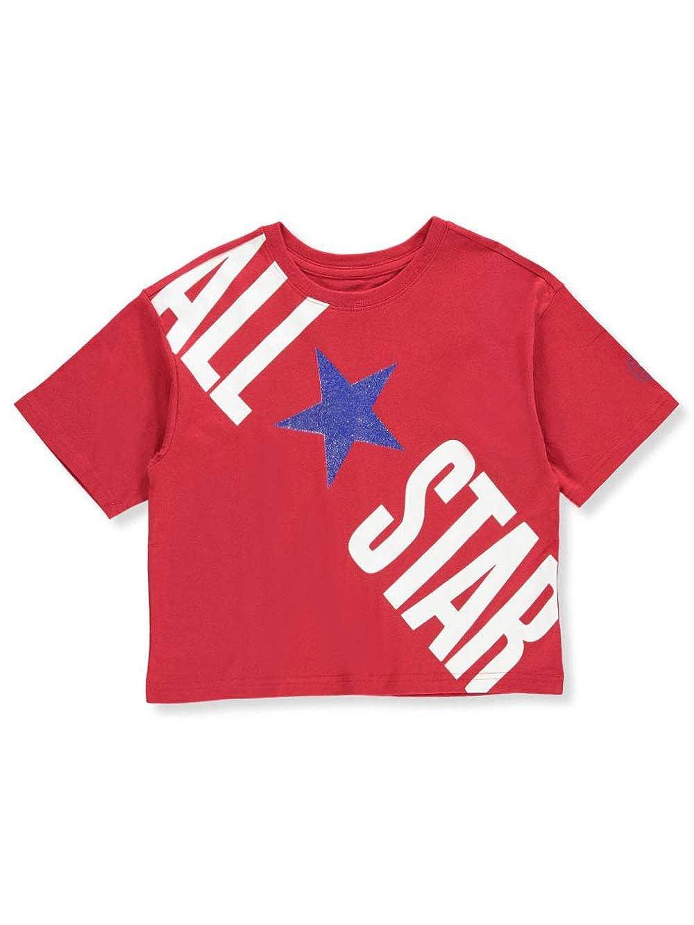 a59f7cd222f0 Amazon.com  Converse Girls  T-Shirt  Clothing