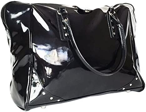 Trendy Flyer 19 Large Duffel Tote Bag Luggage Travel Overnight Gym Purse Case Black