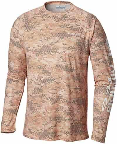 1cd45fcf21c Columbia Men's PFG Terminal Deflector Printed Long Sleeve Fishing Shirt