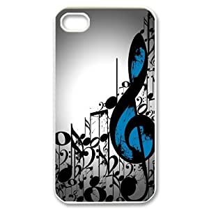 [QiongMai Phone Case] For Iphone 4 4S case cover -Love Music-IKAI0448189