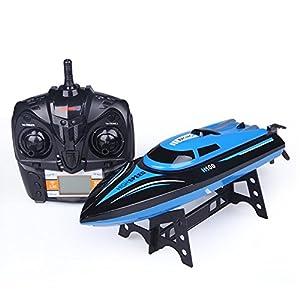 ETTG Tempo H100 2.4G 4CH Remote Control Speed boat Electric RC Boat-Blue
