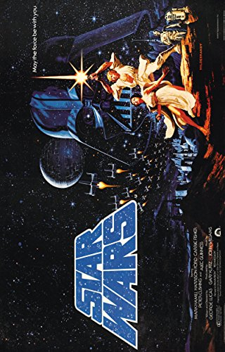 "Star Wars: Episode IV - A New Hope  Movie Poster 24""x36"""
