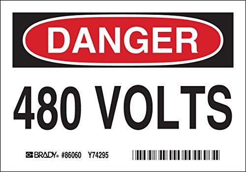 Brady 86060 480 Volts