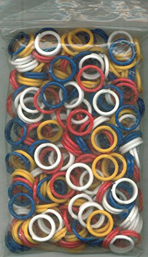 4 200k Color (Rings: 200-ct in 4 different colors (Item # R200))