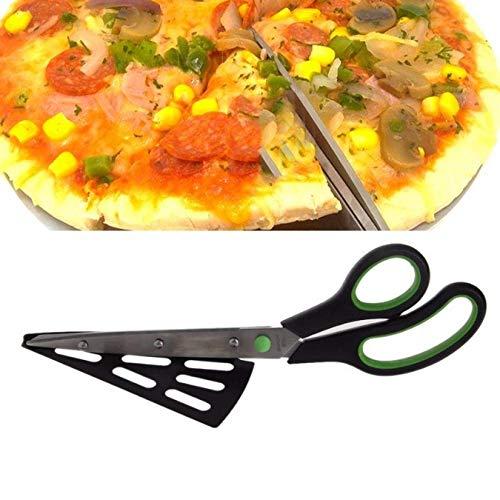 Keuken Gadget 2 in 1 Pizza Schaar Cutter Slicer Lade Divider Voedsel Serveerwerk Gereedschap Chopper Pizza Cutter Non…
