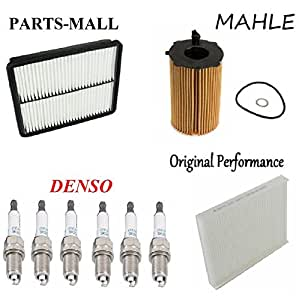 tune up kit with air oil fuel filters plugs. Black Bedroom Furniture Sets. Home Design Ideas