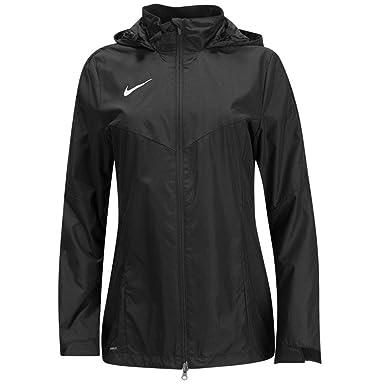 free shipping 7148d e3659 Nike Womens Academy 18 Rain Jacket 893778-010 (Small, BlackWhite)