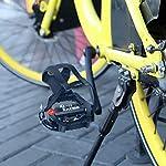 Zacro-Pedali-per-Cyclette-916-con-Clip-per-Punta-Tacchette-SPD-Incluse-Adatti-per-Biciclette-da-Palestra-per-Interni-Biciclette-da-Spinning