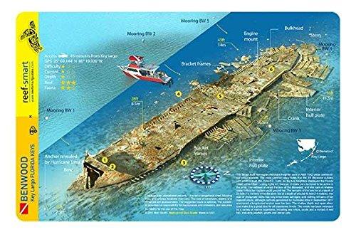 Download Benwood Wreck Key Largo Florida Waterproof Dive Card ebook
