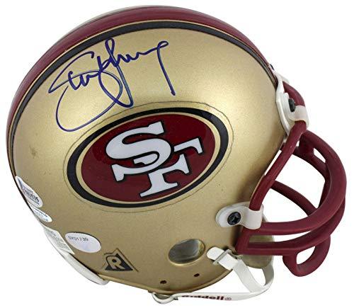 Young Mini Helmet - Signed Steve Young Mini Helmet - Vintage Replica BAS #H83535 - Beckett Authentication - Autographed NFL Mini Helmets