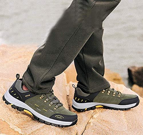 da da da da Uomo Allenamento Scarpe per per per per 14 FuweiEncore in Outdoor Lavoro Occasionale Pelle da 14 Ginnastica Scarpe Trekking Scarpe Trekking Trekking 42EU Colore Dimensione da fIwxw6P5Xq