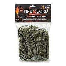 Live Fire 550 Fire Cord, 100 Feet, ACU Digital Camo by Fire Cord