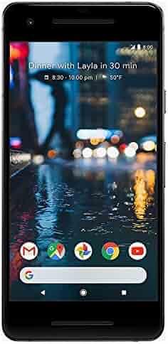 Google Pixel 2 64 GB, Black (Refurbished)