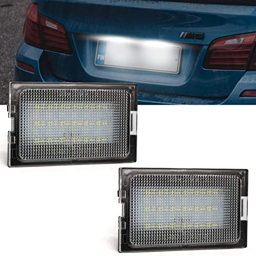 - LED License Plate Lamps,Ourbest License Plate Light With CANBUS Free Error Waterproof White Fit for 3/05-09 Land Rover Discovery Series 4/2010,Land Rover Range Rover Sport05-13/Freelander 2/06 (2pcs)