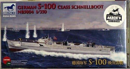 Bronco Models 1//350 German S-100 Class Schnellboot