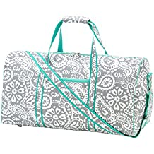High Fashion Print 21 in Print Duffle, Overnight, Carry On Bag Can Be Personalized or Monogrammed