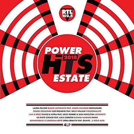 b80693474c Power Hits Estate 2018 : Various Artists: Amazon.it: Musica