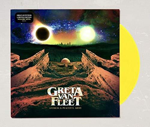 Music : Greta Van Fleet - Anthem Of The Peaceful Army Limited Edition LP Translucent Yellow Vinyl