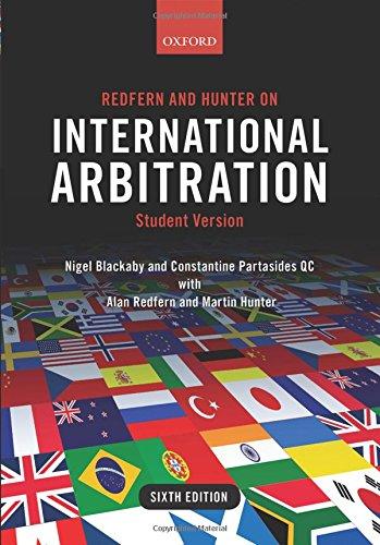 Redfern+Hunter On Internatl.Arbitration