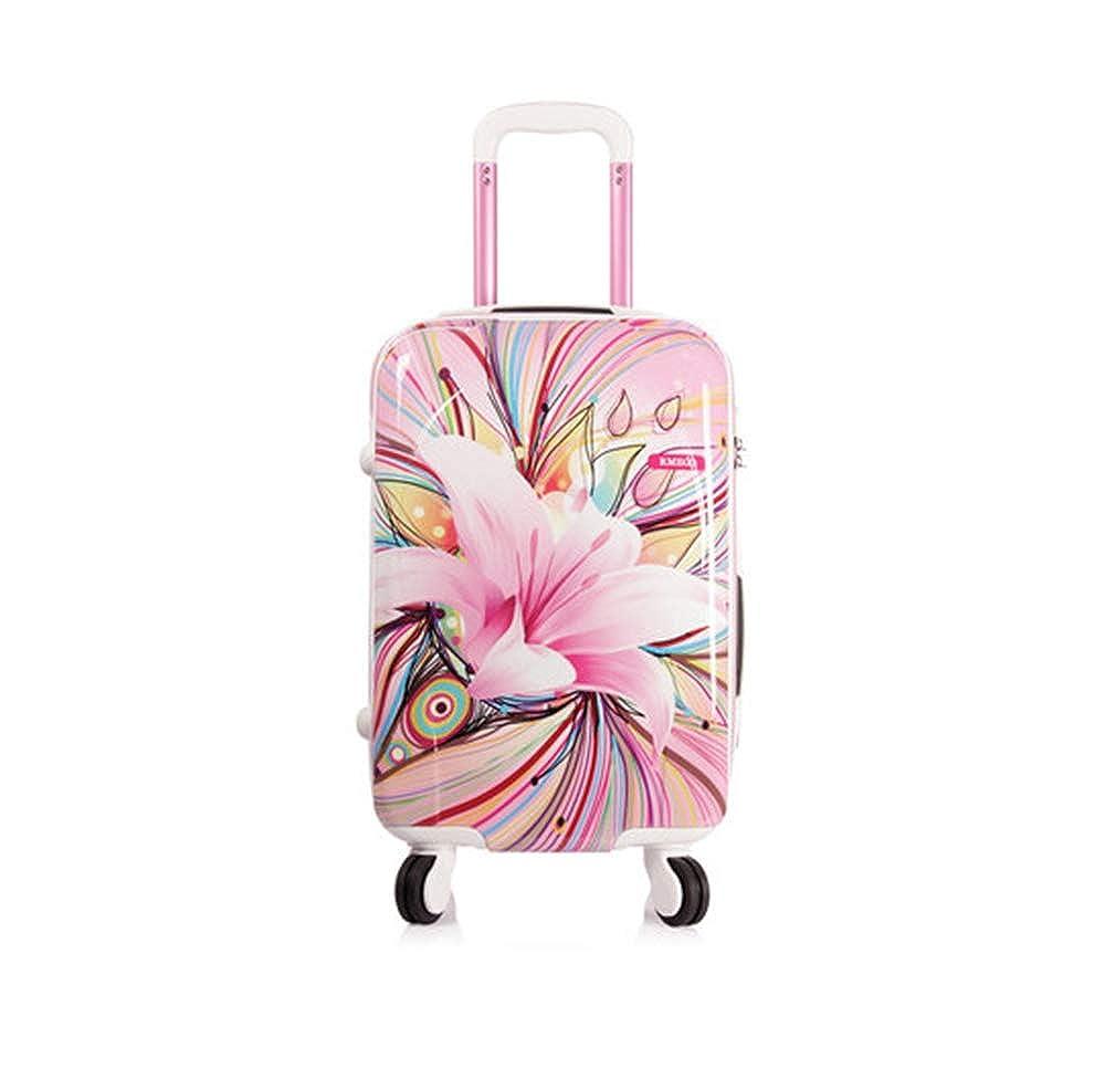 スーツケース、20インチ男性と女性のユニバーサルホイールトロリーケース abs素材、出張に適し、旅行   B07RHK2KV4