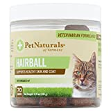 Product review for Pet Naturals of Vermont Hairball 70 Chews 3.70 oz