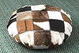 East at Main's Sahara Large Lounging Pillow - Patchwork Design (33.5x33.5x10) (Round)