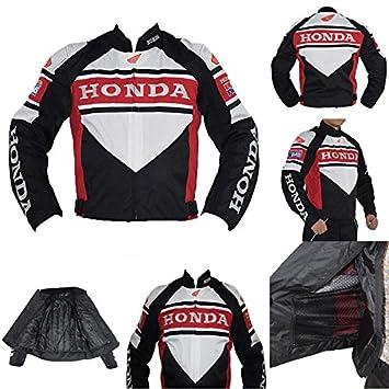 Honda para Hombre Chaqueta De Moto Impermeable Resistente al ...